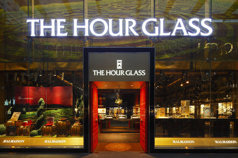 A Visit to The Hour Glass' Malmaison Boutique in Singapore