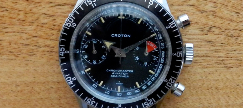 Affordable Vintage: Croton Chronomaster