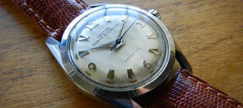 Affordable Vintage: Croton Nivada Grenchen Antarctic