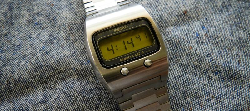 Affordable Vintage: Seiko Quartz LC 0624-5009 LCD