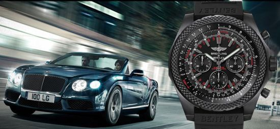 Breitling for Bentley Light Body Midnight Carbon Chronograph