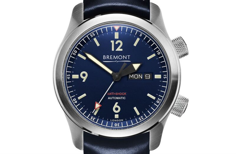 Bremont releases a new U-2 with Blue Dial