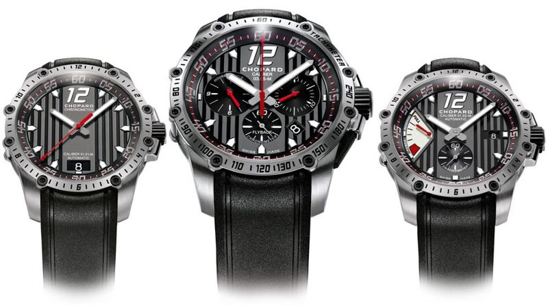 Chopard Redlines with the New Superfast Collection