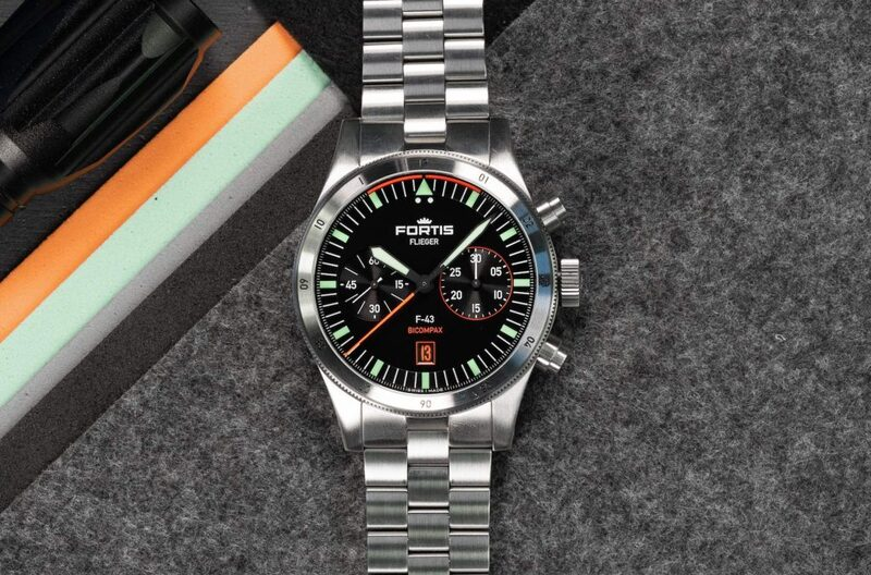 Fortis Flieger F-43 Bicompax Chronograph Is A Blueprint For The Future