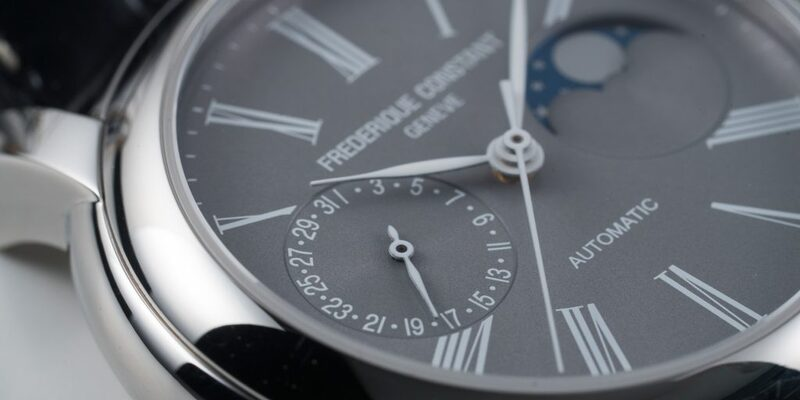 Frederique Constant Manufacture Moonphase Watch For Fratello