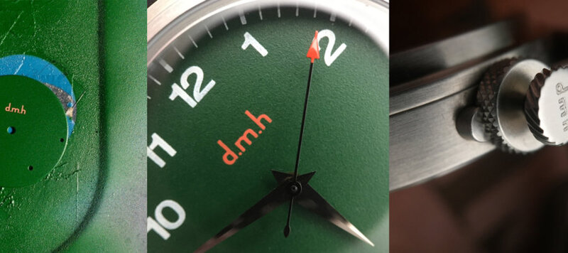 From Start to Finish: Building My Custom d.m.h Watch