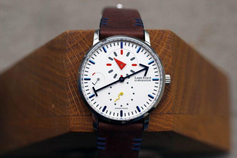 Hands-On With Louis Erard × Alain Silberstein Regulator Watch