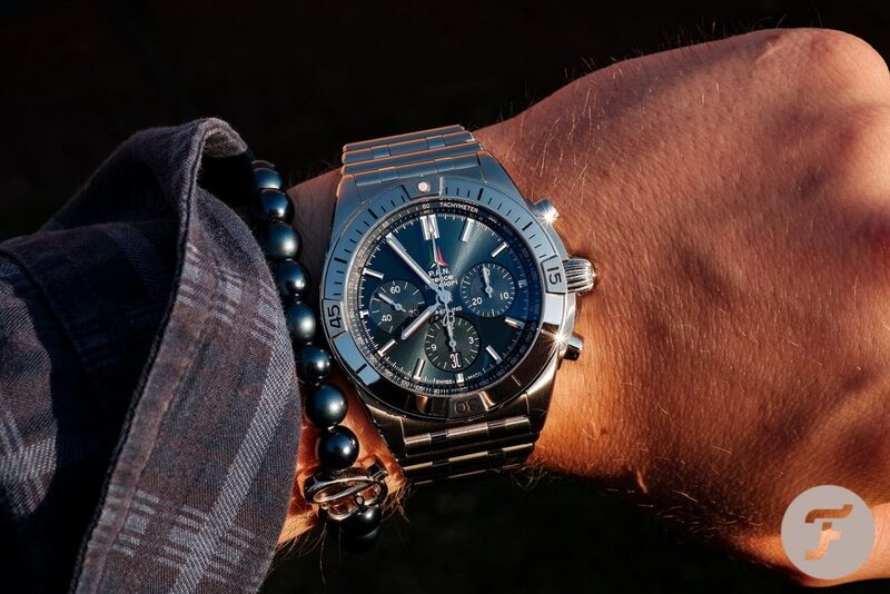 """Hands-On With The New Breitling Chronomat B01 42 """"Frecce Tricolori"""""""