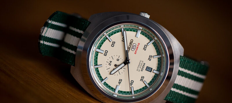 """Hands-On with the Seiko 5 Sports """"Diastar"""" SSA285K1"""