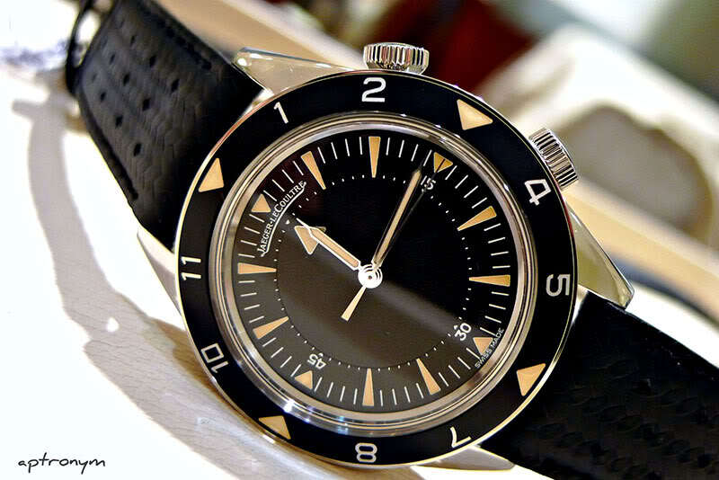 Hands on with the Jaeger LeCoultre Memovox Tribute to Deep Sea