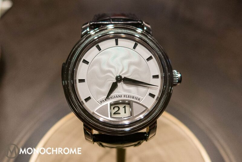Hands-on with the Parmigiani Toric Resonance 3 with Instantanious Outsized Date and Snake-Shaped Gongs