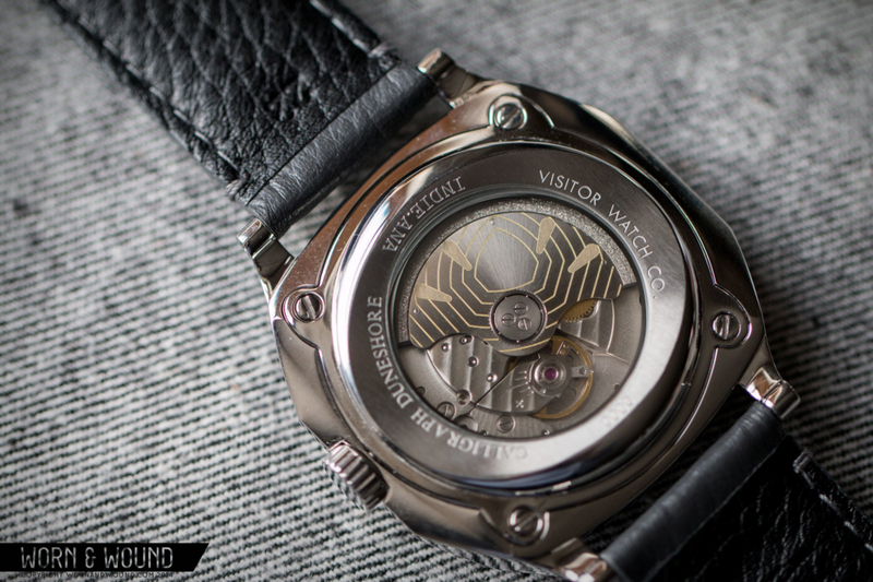 Hands-on with the Visitor Watch Co. Calligraph Duneshore