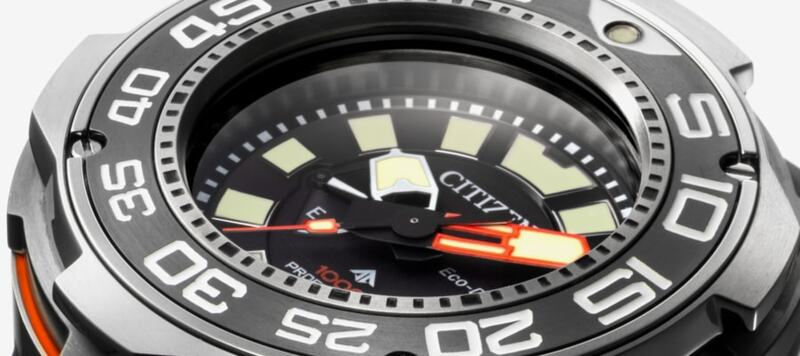 Introducing the Citizen PROMASTER Eco-Drive Professional Diver 1000m