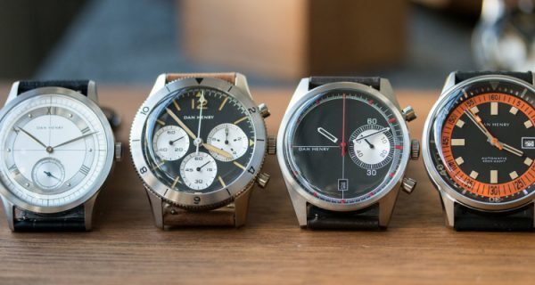 Introducing the Dan Henry Collection, a Vintage-Watch Lover's Affordable Take on New Vintage