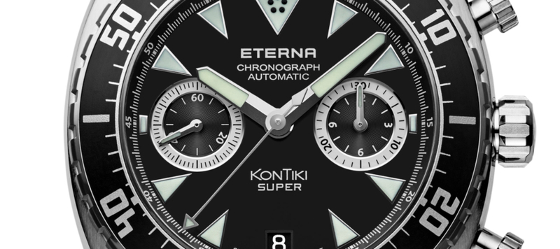 Introducing the Eterna KonTiki Super Chronograph with In-House Caliber