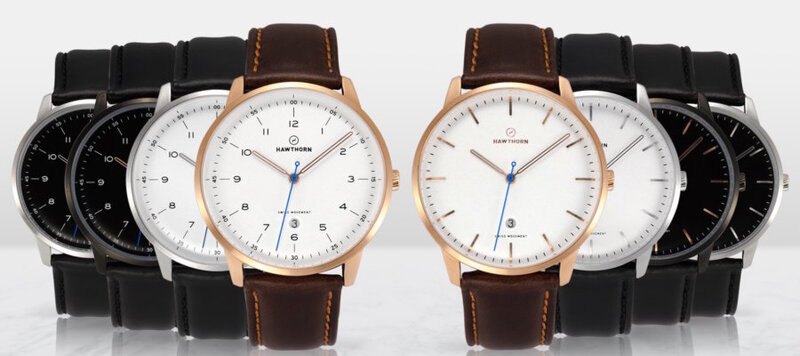 Introducing the Hawthorn Watch Co. Hemingway Collection, Now on Kickstarter