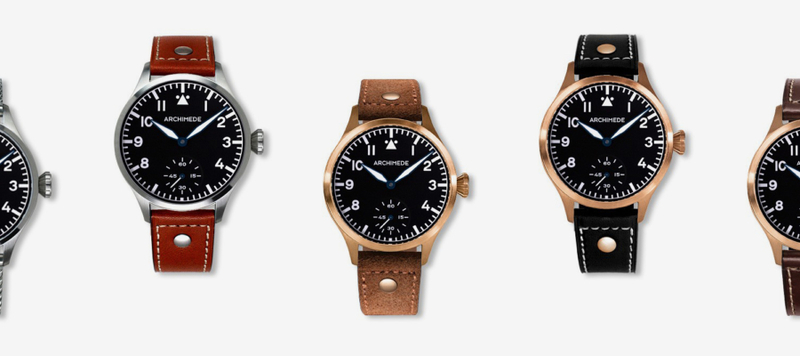 Introducing the Pilot 42 KS, a New Hand-Wound Pilot Watch from Archimede