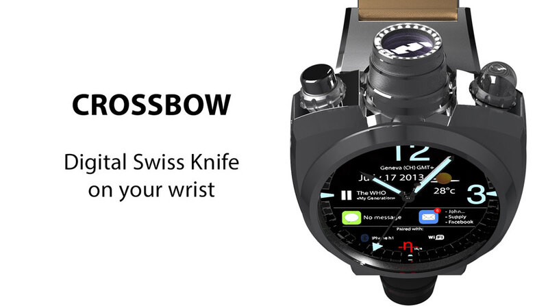 Is This the Future of Watchmaking? Hyetis Crossbow with a 41 MP Camera