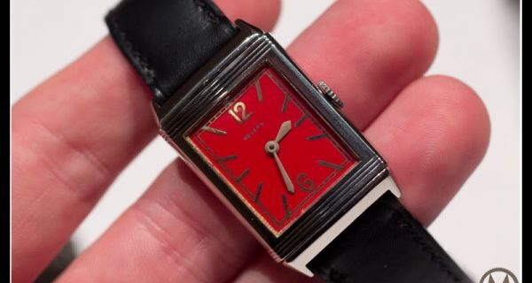 Jaeger-LeCoultre Grande Reverso 1931 Rouge – with photos of the original