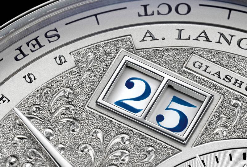 Lange 1 Tourbillon Perpetual Calendar Handwerkskunst