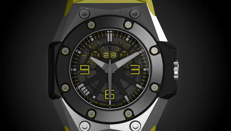 Linde Werdelin presents the Oktopus II Double Date at Baselworld