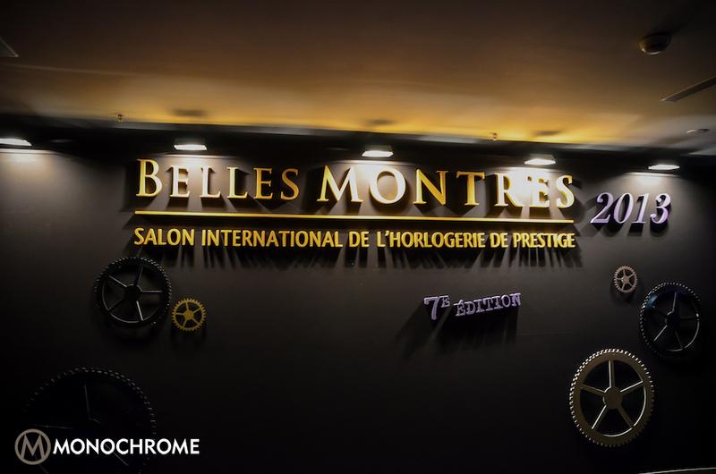 Monochrome visits Belles Montres 2013