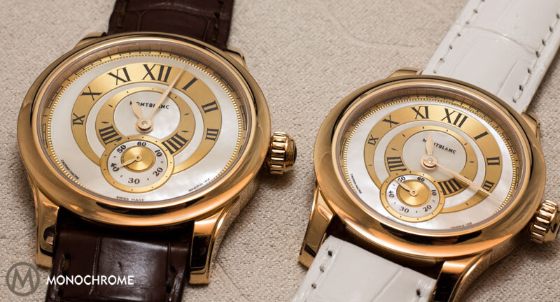 Montblanc Villeret Seconde Authentique and Villeret Seconde Authentique Diamonds