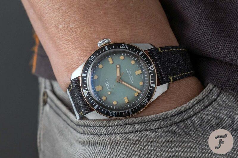 Oris × Momotaro — Swiss Watch Meets Japanese Selvedge Denim