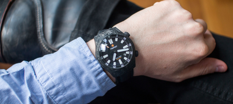Pairs Well With: The Tempest Watches Carbon 2