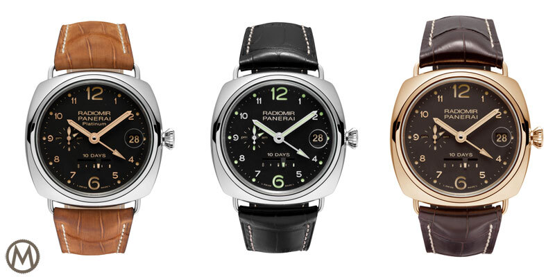 Panerai Radiomir 10-Days GMT – 3 New Special Editions