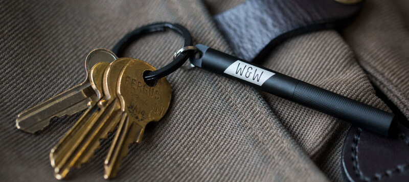 Product Highlight: worn&wound Key Chain Spring Bar Tool