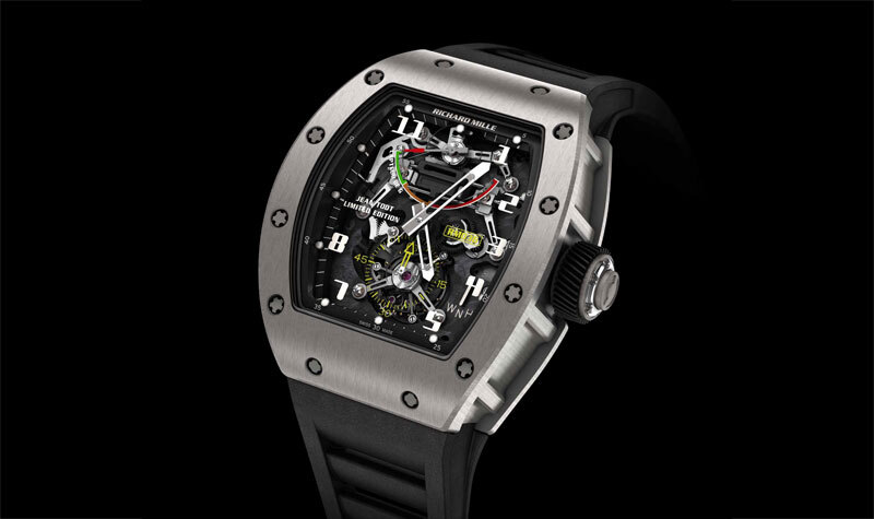Richard Mille Tourbillon G-Sensor RM-036 Jean Todt Limited Edition