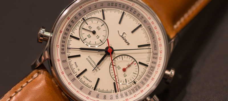 Sinn Introduces New 556I's, the Split-Seconds 910 and More at BaselWorld 2016
