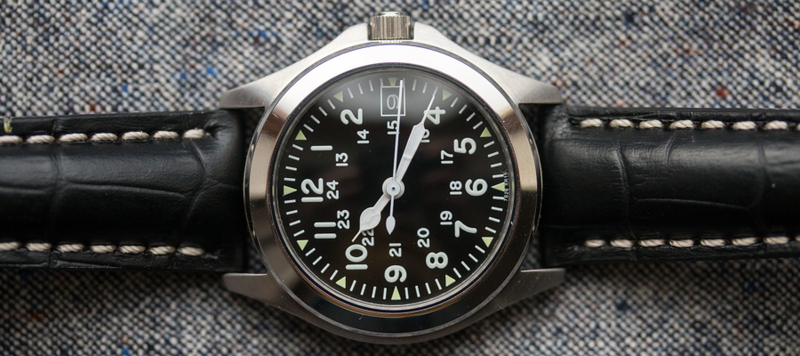 The Field Standard Seiko mod by Go and Behold x Nick Harris