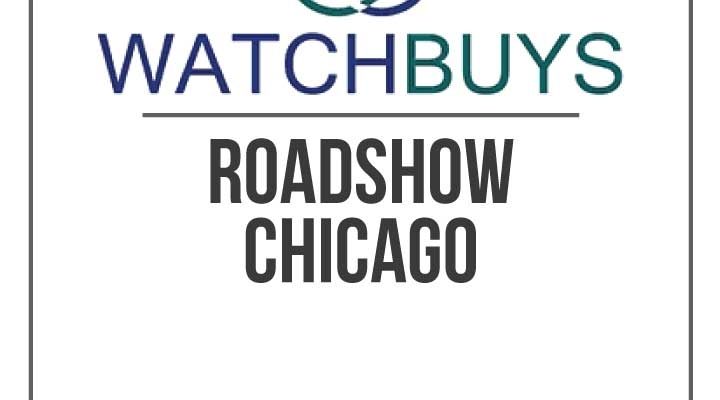 The Watchbuys Roadshow is Coming to Chicago (NOW CLOSED)