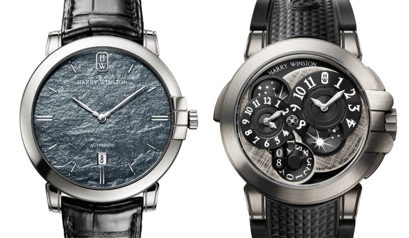 Two Monochrome Editions by Harry Winston