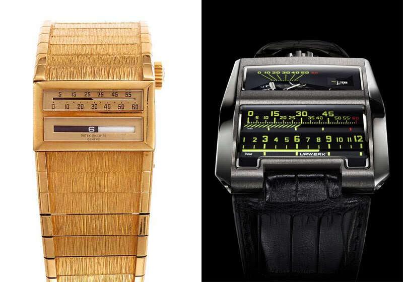URWERK UR-CC1 and a vintage Patek Philippe prototype