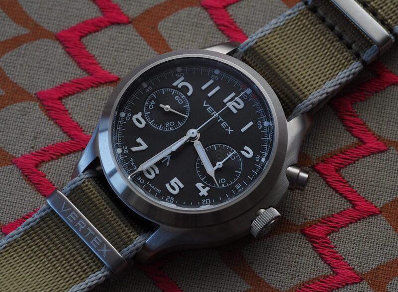 Vertex MP45 Chronograph Watch Is Annoyingly Good