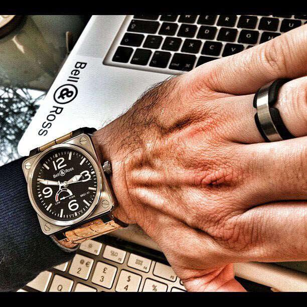 Weekly Watch Photo – Bell & Ross wrist shots