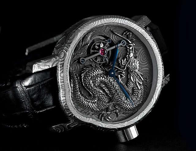 Weekly Watch Photo – Cornelius & Cie Tourbillon Dragon