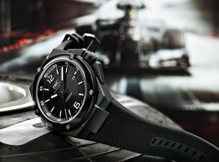 Weekly Watch Photo – IWC Ingenieur Automatic AMG Black Series – Pre-SIHH 2013