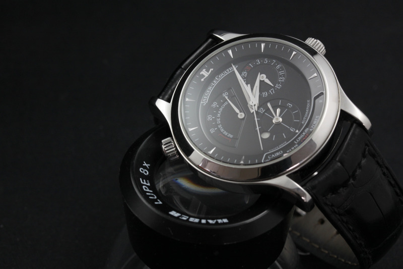 Weekly Watch Photo – Jaeger-LeCoultre Master Geographic black dial