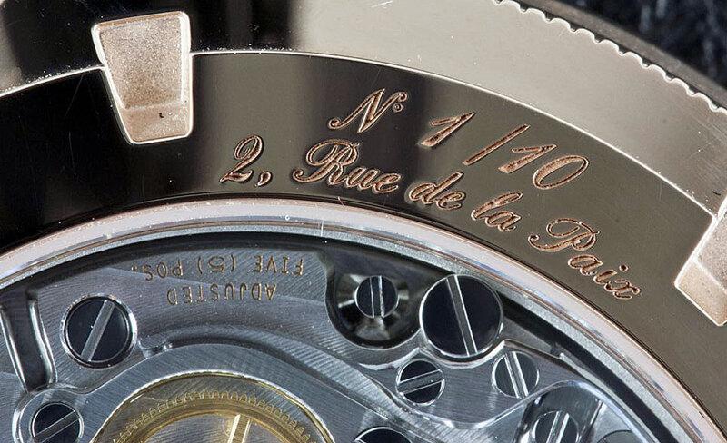 Weekly Watch Photo – Vacheron Constantin Patrimony Traditionnelle Chronograph Paris Boutique