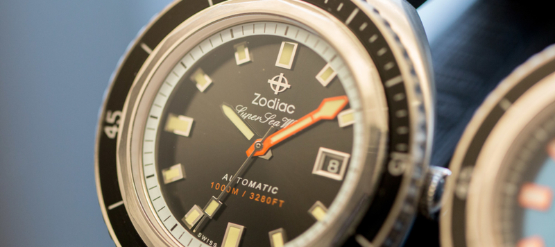 Zodiac Watches Brings Back the Super Sea Wolf
